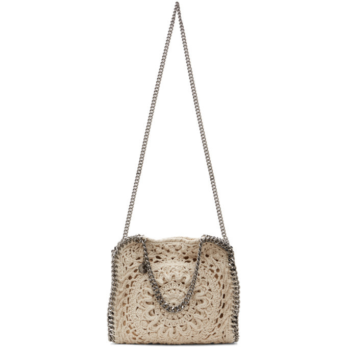 Photo: Stella McCartney Off-White Mini Crochet Falabella Tote