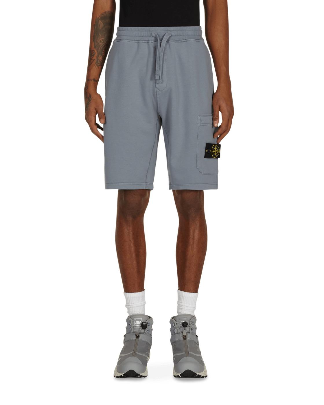 Stone Island Basic Sweatshorts Grey