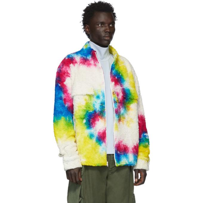 The Elder Statesman Multicolor Sherpa Rings Jacket