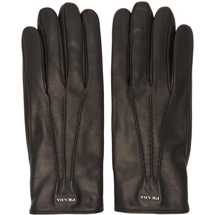 Photo: Prada Black Lambskin Gloves