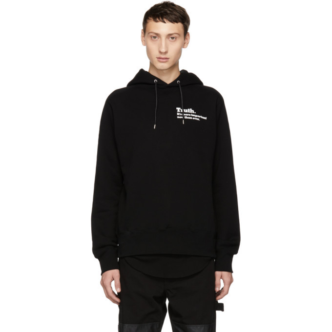 Photo: Sacai Black Truth Hoodie