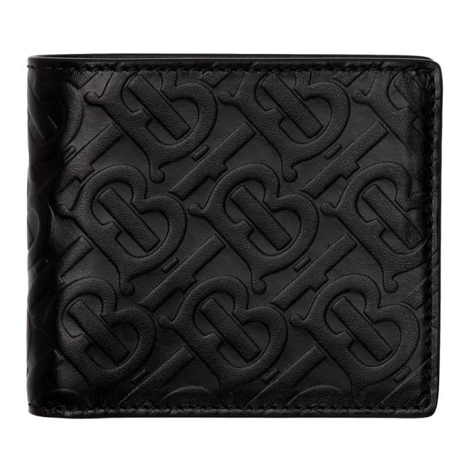 Photo: Burberry Black Monogram Bifold Wallet