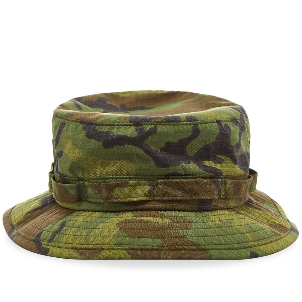 Photo: Beams Plus Poplin Jungle Hat