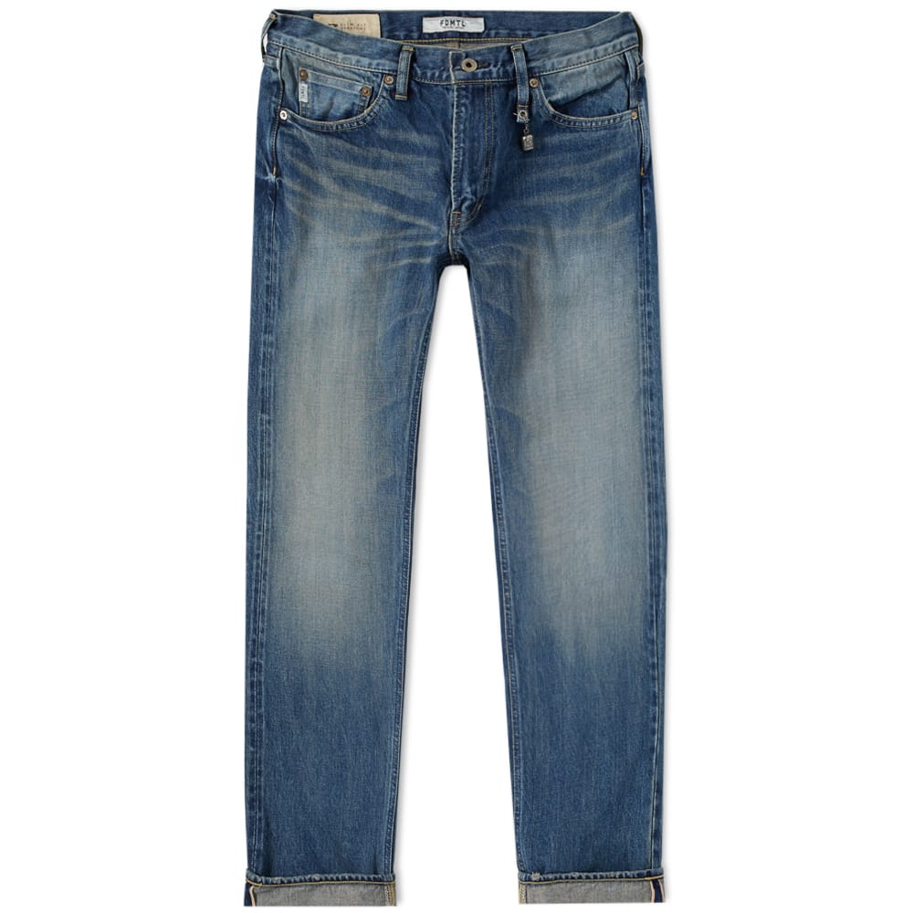 Photo: FDMTL Slim Fit Trace Jean
