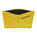Raf Simons Yellow Drugs Zipped Document Pouch