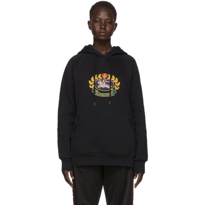 black burberry hoodie
