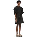 3.1 Phillip Lim Black Knotted Sleeve Dress