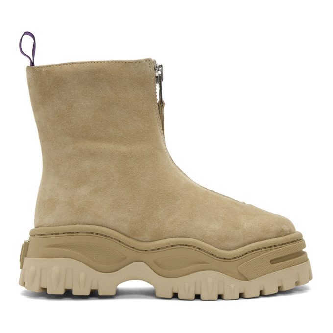 Photo: Eytys Tan Suede Raven Boots