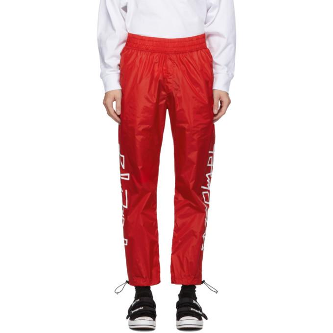 Photo: Palm Angels Red Desert Logo Track Pants