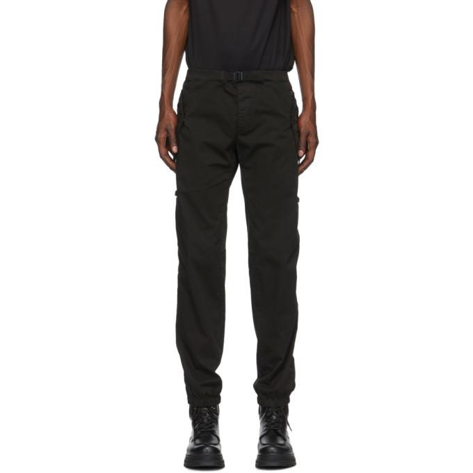 Photo: Moncler Black Belted Cargo Pants