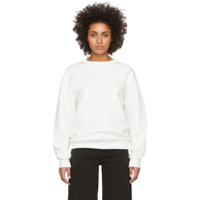 Photo: 032c SSENSE Exclusive White Smiley Sweatshirt