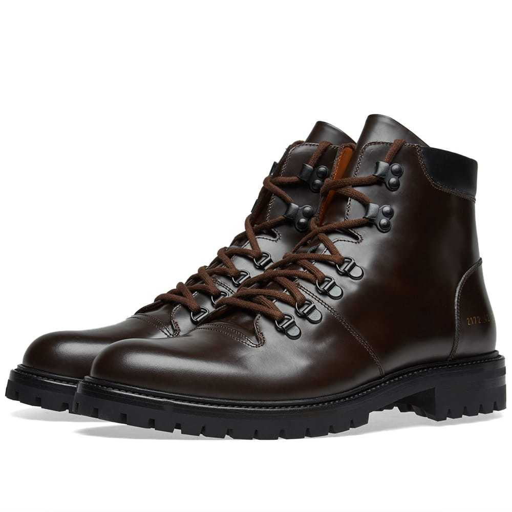 Photo: Common Projects Hiking Boot