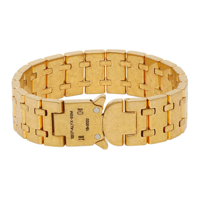 Photo: 1017 ALYX 9SM Gold Royal Oak Bracelet