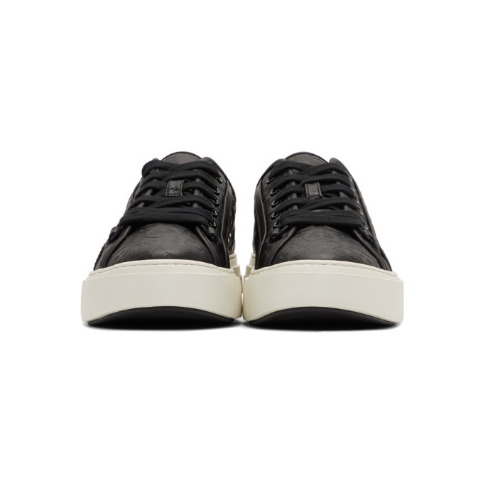 Salvatore Ferragamo Black Anson 2 Sneakers