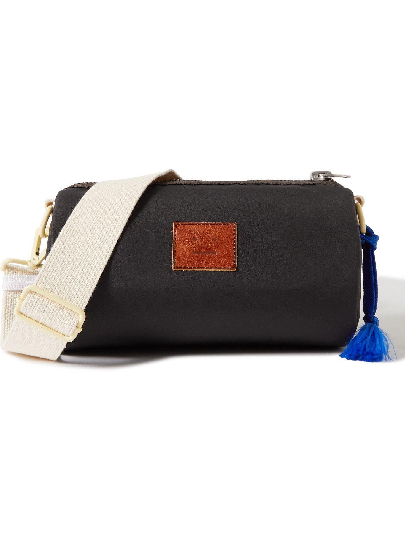 Photo: ACNE STUDIOS - Logo-Appliquéd Shell Messenger Bag