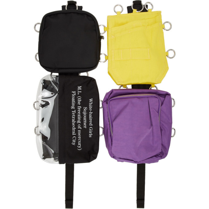 Photo: Raf Simons SSENSE Exclusive Multicolor Eastpak Edition Loop Quote Backpack