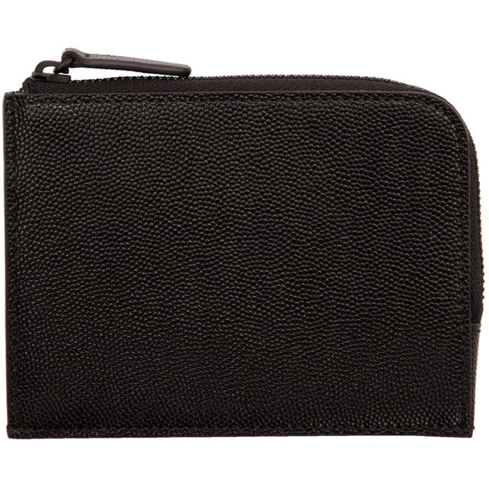 Photo: Common Projects Black Zipper Wallet