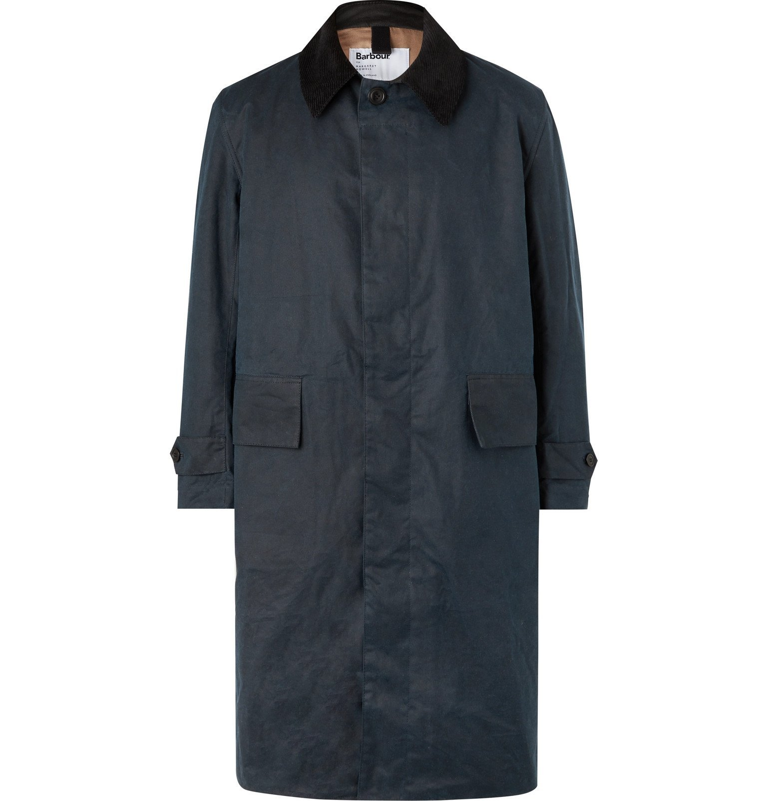 Photo: Barbour - Margaret Howell Waxed-Cotton Coat - Blue