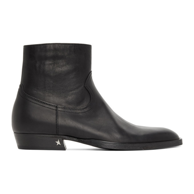 Photo: Golden Goose Black Rock Jimi Zip Boots
