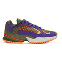 adidas Originals Green and Purple Yung-1 Trail Sneakers