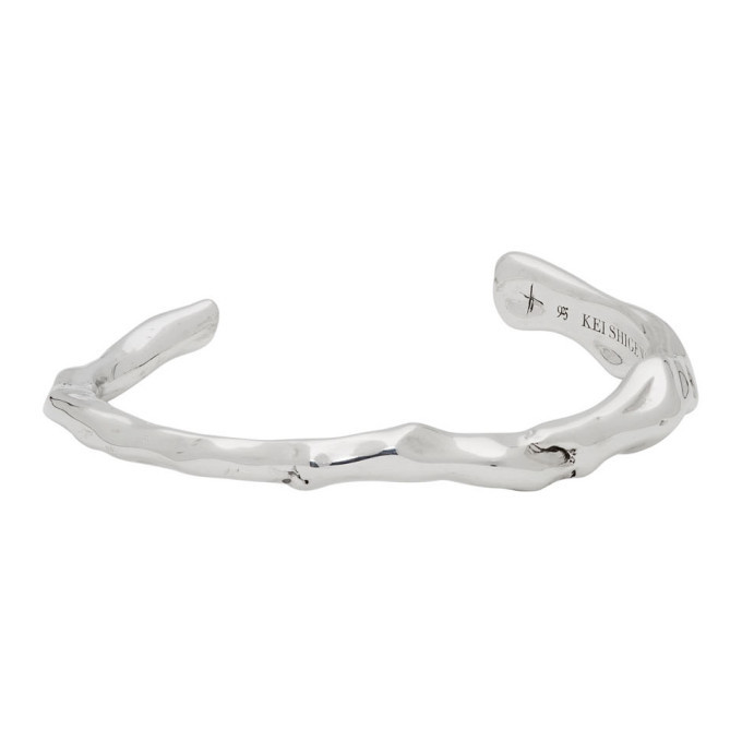 Photo: Kei Shigenaga Silver Tsubomi Bangle Bracelet