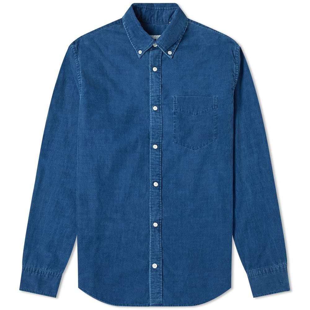Photo: NN07 Levon Button Down Corduroy Shirt