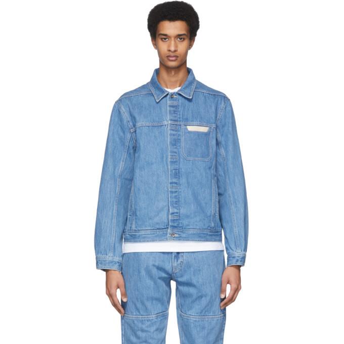Photo: Saturdays NYC Blue Denim Kurlick Jacket