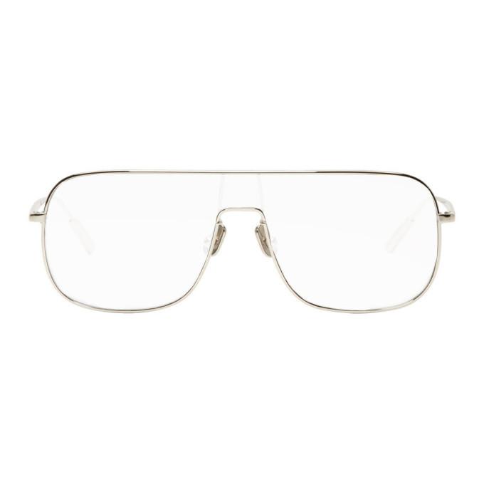 Photo: Ambush Silver and Transparent Full Frame Sunglasses