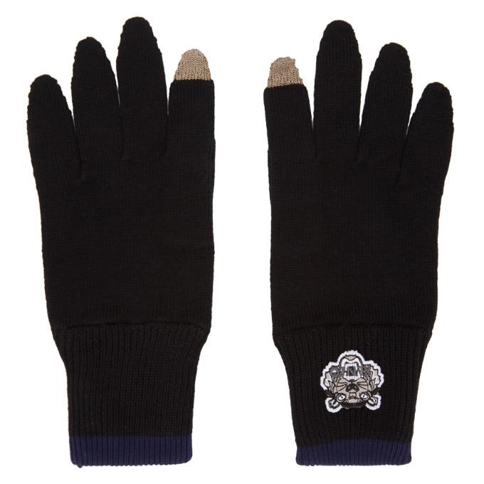 Photo: Kenzo Black Tiger Crest Gloves