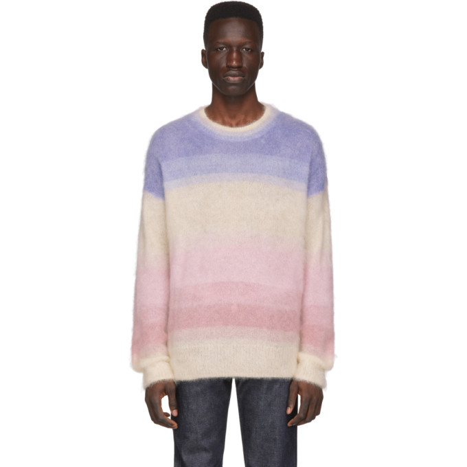 Photo: Isabel Marant Multicolor Mohair Drussell Sweater