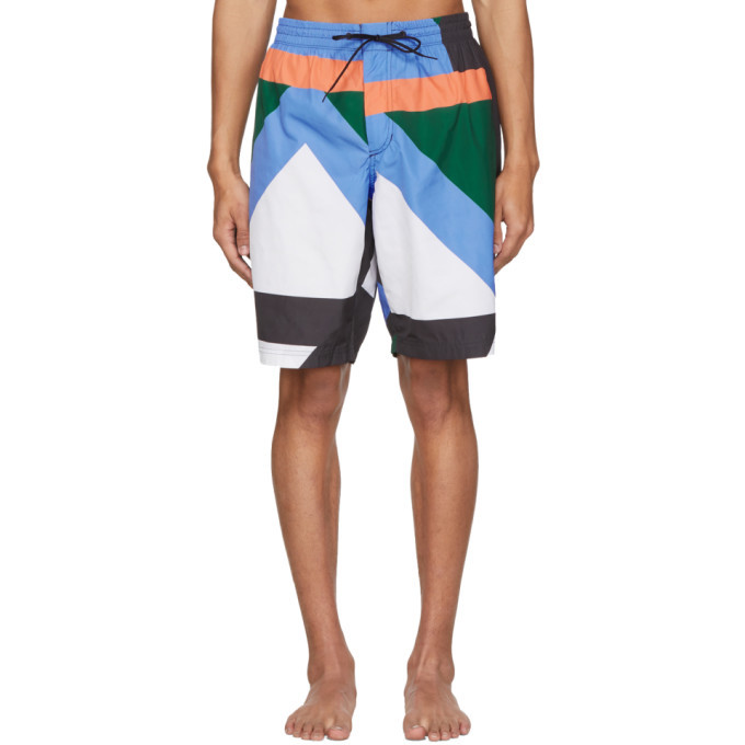 Photo: Y-3 Multicolor AOP Swim Shorts