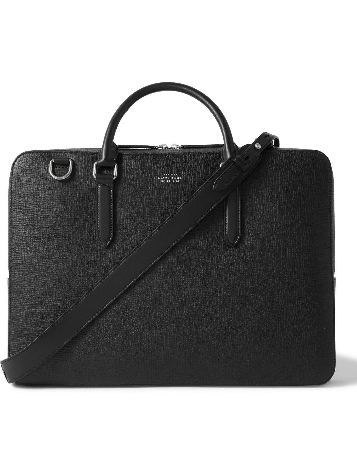 Photo: Smythson - Ludlow Full-Grain Leather Briefcase