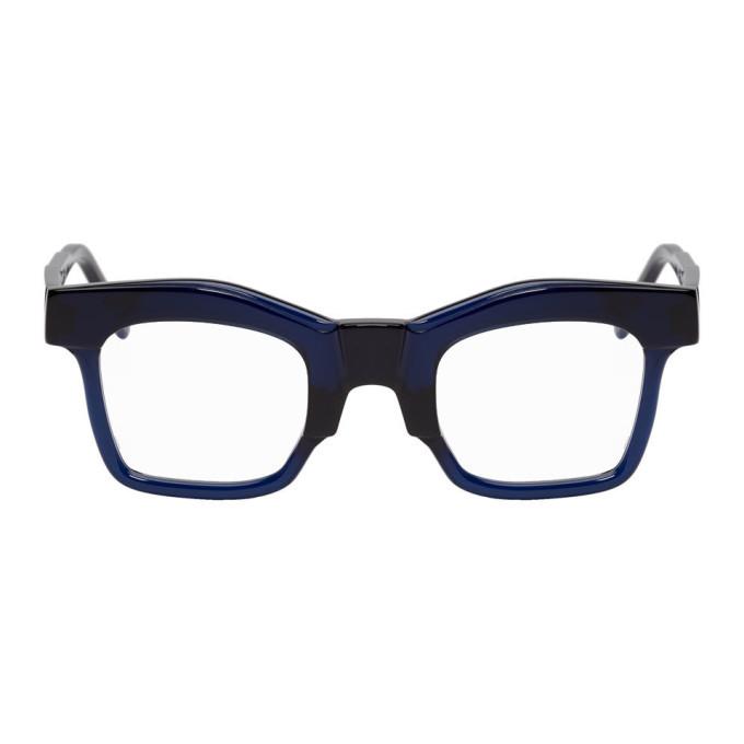 Photo: Kuboraum Blue K21 BL Glasses
