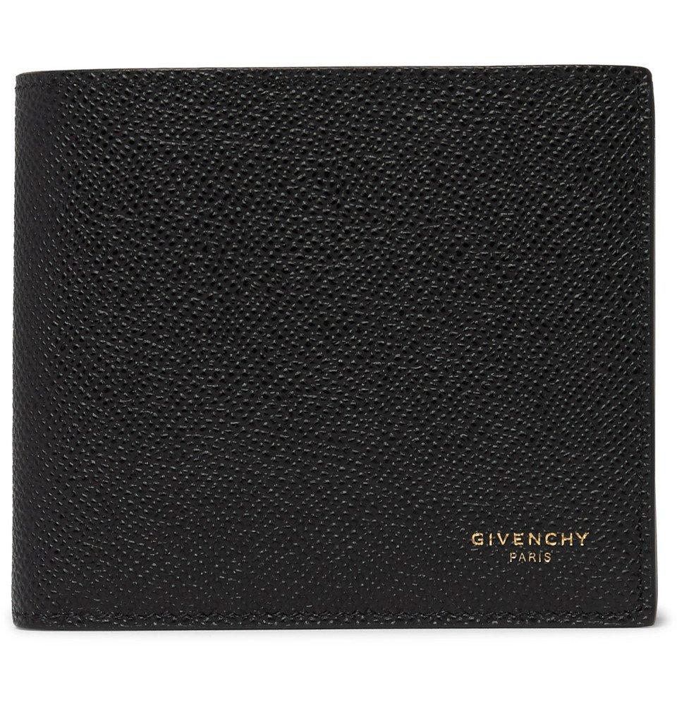 Photo: Givenchy - Eros Pebble-Grain Leather Billfold Wallet - Black