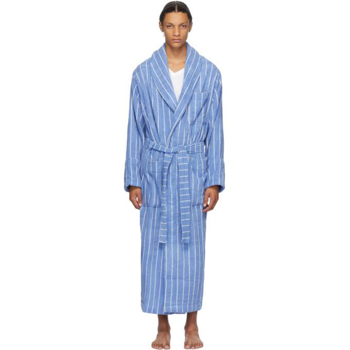 Photo: Tekla Blue Striped Bath Robe