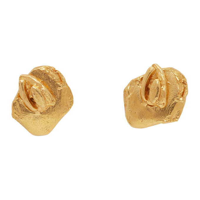 Photo: Alighieri Gold The Fractured Dream Earrings