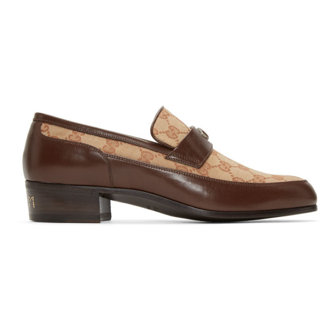 Photo: Gucci Beige High Loomis Loafers