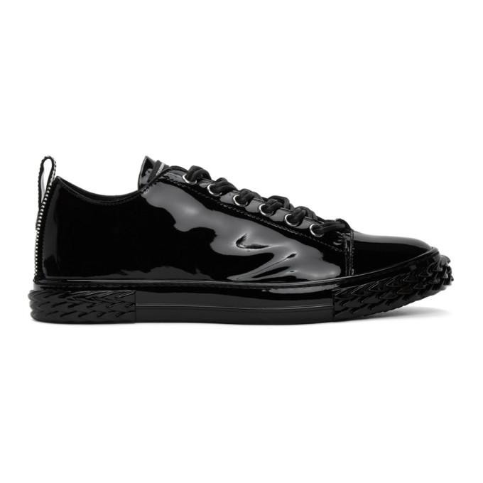 Photo: Giuseppe Zanotti Black Patent Blabber Sneakers