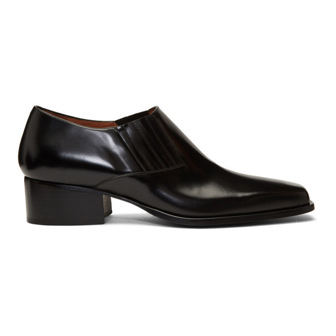 Photo: Y/Project Black Low Cut Chelsea Boots