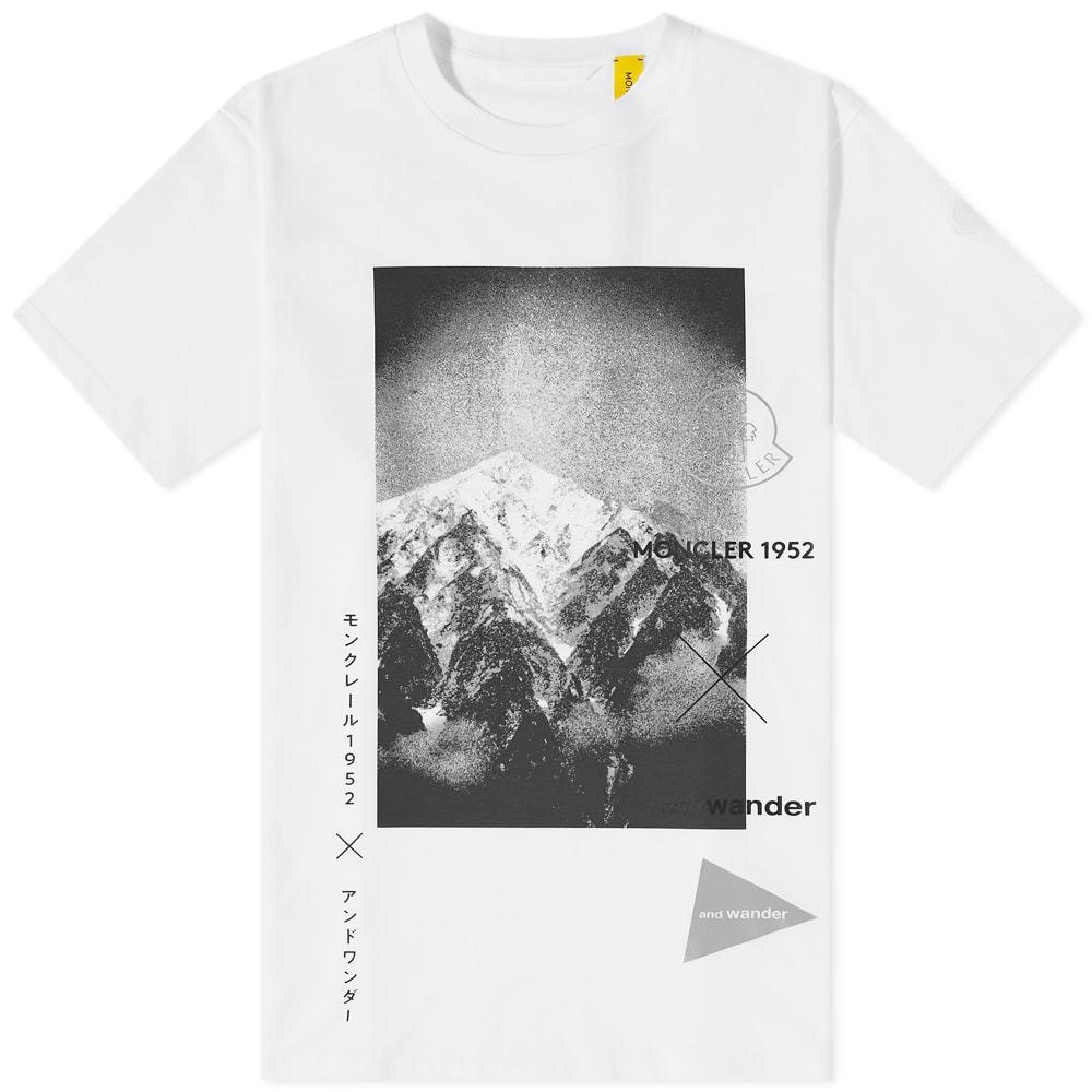 Photo: Moncler Genius x And Wander Mountain Tee