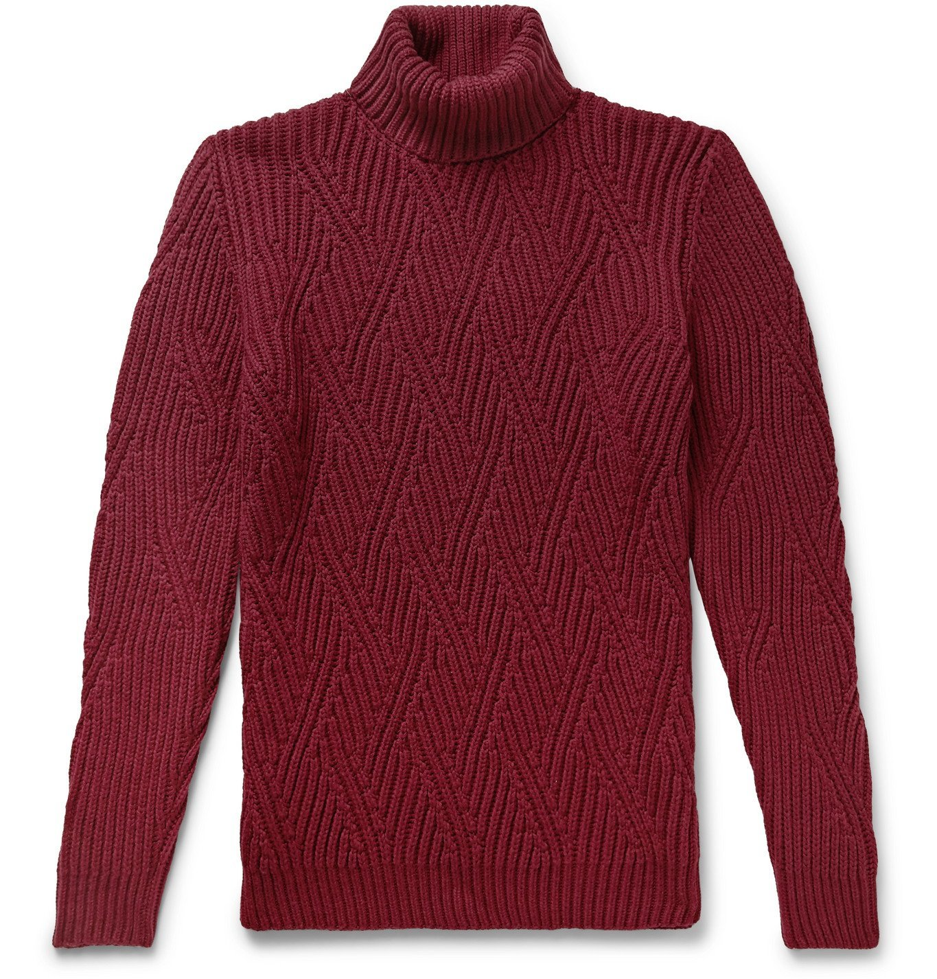 Photo: Etro - Wool Rollneck Sweater - Red