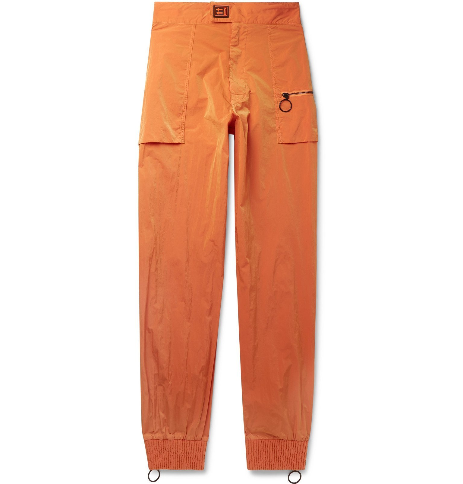 Photo: Off-White - Tapered Shell Trousers - Orange