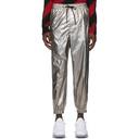 3.1 Phillip Lim Silver Zipper Track Pants