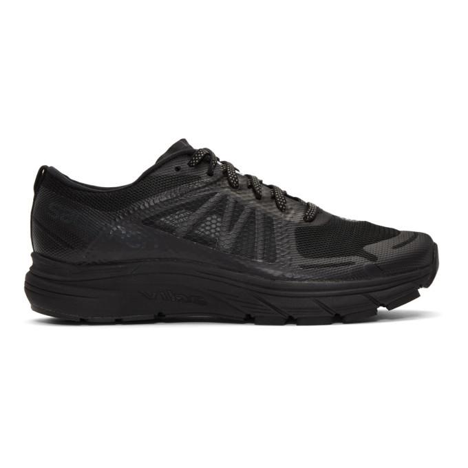 Photo: Satisfy Black Salomon Edition Sonic RA Max Sneakers