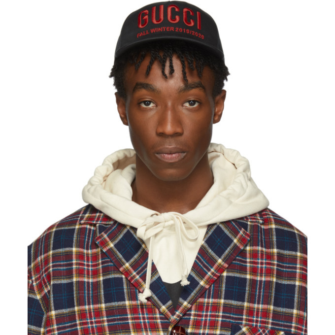 Photo: Gucci Black and Red Logo Cap