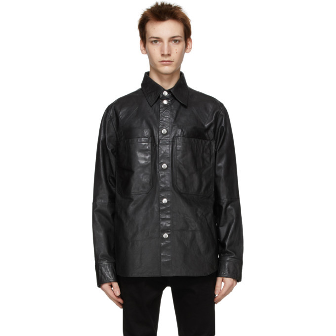 Photo: Diesel Black Leather L-Brown Jacket