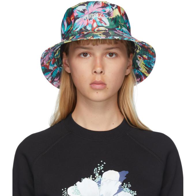 Photo: Kenzo Black Vans Edition Floral Bucket Hat