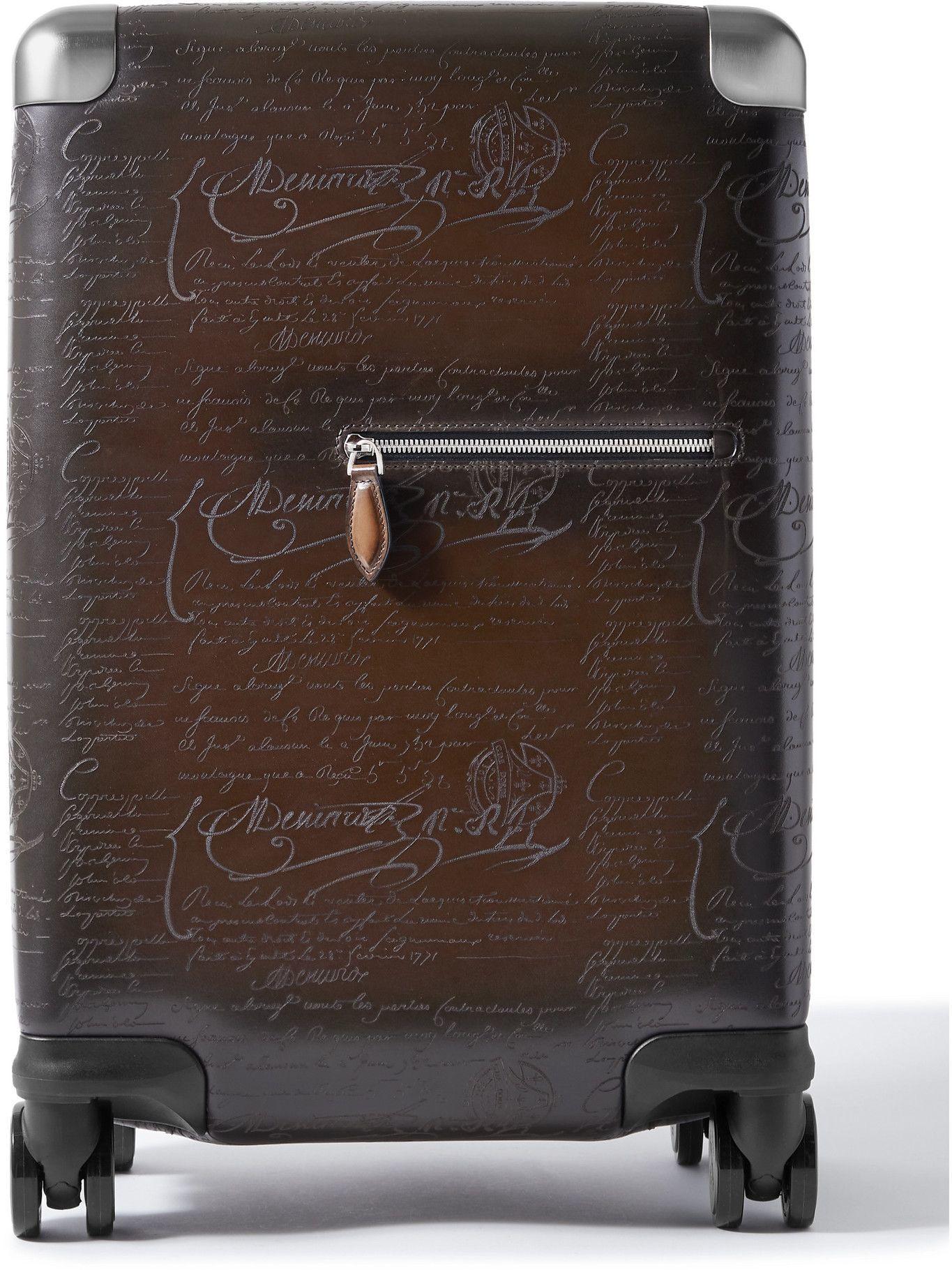 Photo: Berluti - Scritto Venezia Leather Carry-On Suitcase