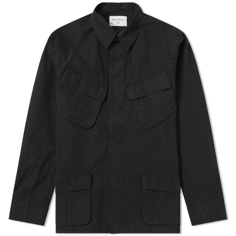Photo: Officine Generale Japanese Ripstop Jungle Jacket