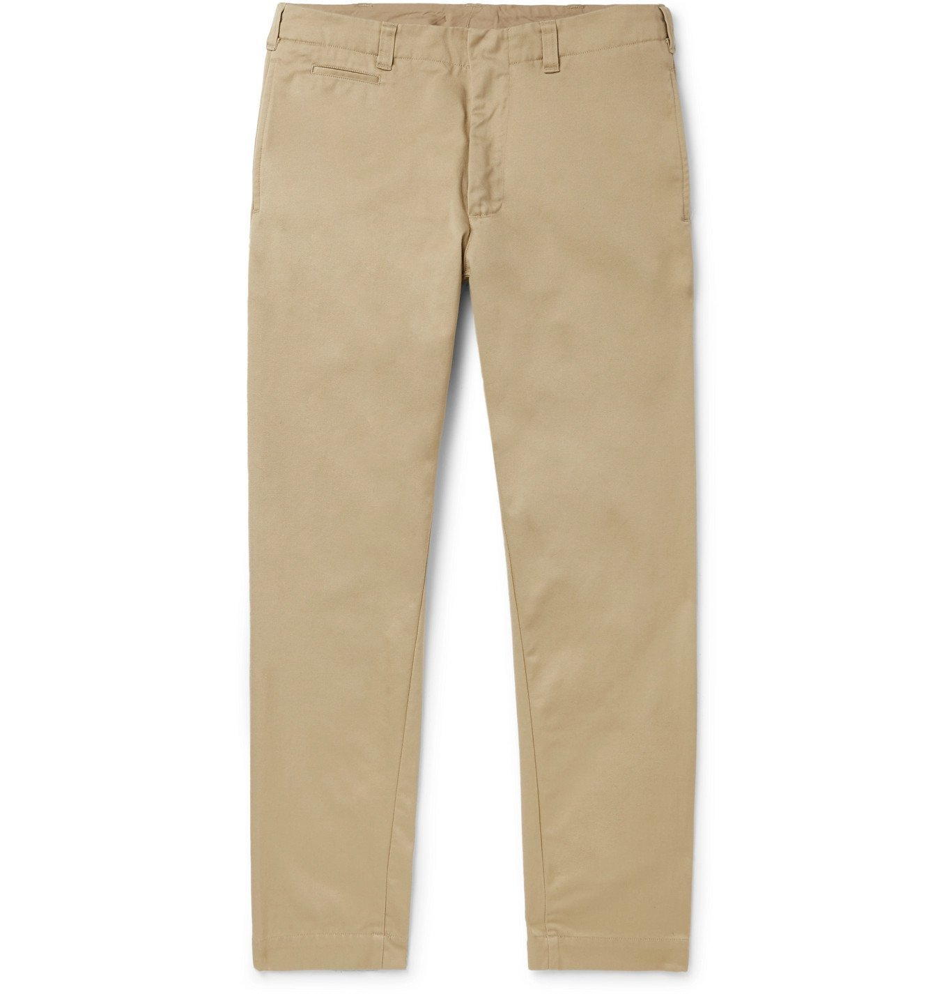 Photo: NANAMICA - Tapered Cotton-Blend Twill Chinos - Neutrals